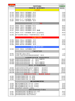 T1 UNICARS PRICE LIST ËÉÁÍÉÊÇ 2012