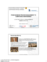 from business process management to competence management