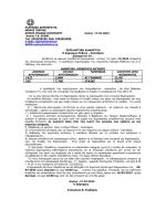 Ανακοίνωση για εκμίσθωση αγροτεμαχίων Δ.Ε. Μεθώνης