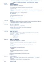 Προεδρείο: M. Xουλάκης – Μ. Μανιάτη Ατοπική δερματίτιδα