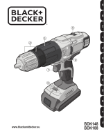 BDK148 BDK188 - Black & Decker