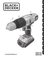 BDK148 BDK188 - Black & Decker