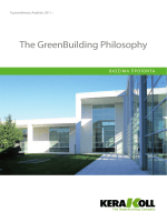 The GreenBuilding Philosophy