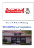 Virus Removal  Electronic Repair service in Las Vegas Doctors of Technology