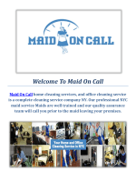 Office Cleaning Company NYC : Maid On Call