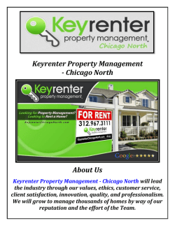 Keyrenter Property Management Company Chicago IL