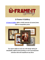 Picture framing North hollywood