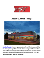 Gunther Toody's Diners Denver CO