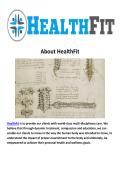 HealthFit Chiropractors in Pasadena