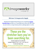 Bars Canvas Stretcher - Imageworks Supply