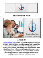 Buzaker Law Firm in toronto ( 905-370-0484 )