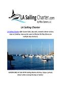 LA Sailing Charter : Yacht Rentals Marina Del Rey