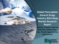 Global Prescription Generic Drugs Industry 2015 Deep Market Research Report