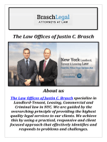 The Law Offices of Justin C. Brasch: Landlord Rights New York