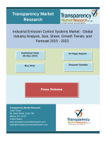 Growth Of Industrial Emission Control Systems Market  2015 - 2023