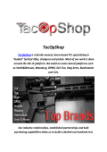 TacOpShop : AR Tactical Rifles For Sale
