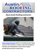 Austin Roofing Contractors - Metal Roofing in Austin