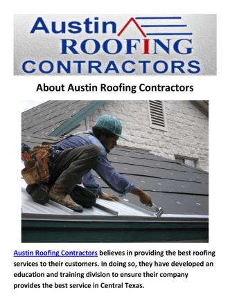 Austin Roofing Contractors - Metal Roofing in Austin