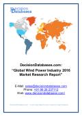 Wind Power Market Analysis 2016 Development Trends