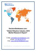 Global Ethylene Market 2016:Industry Trends and Analysis