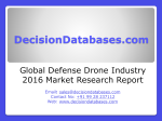 Defense Drone Market International Analysis and Forecasts 2020