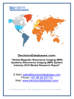 Global Magnetic Resonance Imaging(MRI) System Industry 2016 Market Research Report