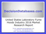 United States Laboratory Fume Hoods Industry Industry Sales and Revenue Forecast 2016