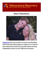 Yellowstone Rehab Orange County