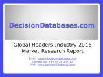 Headers Market Analysis 2016 Development Trends