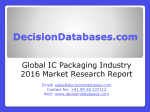 Global IC Packaging Industry- Size, Share and Market Forecasts 2020
