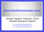 Jigsaws Market Research Report: Global Analysis 2020-2021