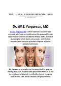 Dr. Jill E. Furgurson, MD : Juvederm Expert In Malibu