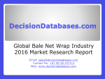 Bale Net Wrap Market International Analysis and Forecasts 2020