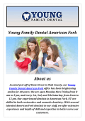 Young Family Dental: Cosmetic Dentist in American Fork, UT