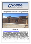 Young Family Dental: Cosmetic Dentistry Saratoga Springs, UT