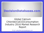 Global Calcium Chloride(CaCl2) Consumption Market 2016:Industry Trends and Analysis