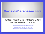 Neon Gas Market International Analysis and Forecasts 2020