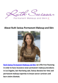 Ruth Swissa Permanent Makeup Expert Los Angeles