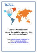 Dehumidifiers Industry 2016 : Global Market Outlook