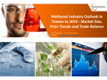 Methanol Industry Outlook in Taiwan to 2019 - Market Size, Price Trends and Trade Balance