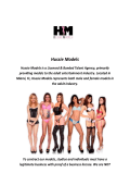 Hussie Models : Adult Actress Agency In Miami, FL