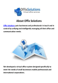 Offix Solutions - Virtual Office in Miami FL