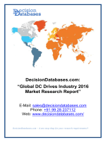 Global DC Drives Industry 2016 Market Research Report