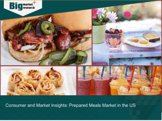 Consumer and Market Insights Prepared Meals Market in the US