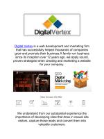 Digital Vertex Web Design in Malibu