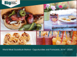 World Meat Substitute Market - Opportunities and Forecasts, 2014 - 2020)