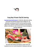 Best Sushi In Raleigh, NC By Yung Nay Private Chef & Catering
