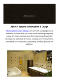 4 SEASONS HOME CONSTRUCTION & DESIGN COMPANY IN LOS ANGELES