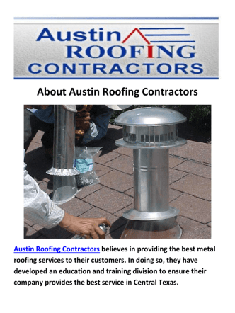 Austin Roofing Contractors - Metal Roof in Austin