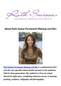 Ruth Swissa Permanent Makeup and Skin - Permanent Eyeliner in Los Angeles CA